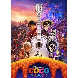 Coco Full HD Cartoon movie (HINDI , ENGLISH) NOT ORIGINAL BURN DATA DVD
