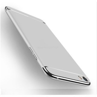 cheap for discount 578af f5253 Oppo F3 Chrome Back Cover For Oppo F3 (Silver) By Vinnx