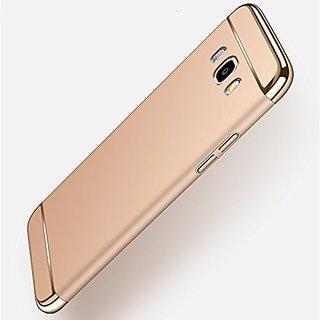 online store 4afa0 a7744 Samsung Galaxy J7 Nxt Chrome Back Cover 3in1 Back Case Cover for Samsung  Galaxy J7 Nxt (Golden) By Vinnx
