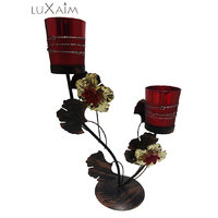 Beautiful Home Décor Brown Candle Holder Branch Stand By Returnfavors