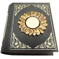 Candle Holder - T Light Candle Holder - Princess Book - Brown Candle Holder