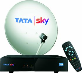 Tata Sky HD Set Top Box with 1 Month Dhamaal Mix Pack