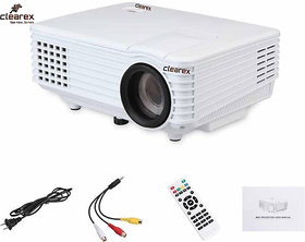 Clearex High Quality Hybrid 800 lm LED Corded Portable Projector