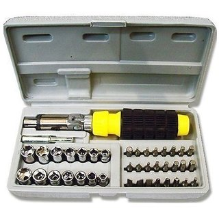 41Pcs Hand Tool Kit Screwdriver Set For Agriculture,Forticulture, Home  Car Multi Tool