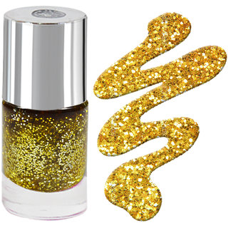 LaPerla International Golden Sparkle Nail Paint 13ml