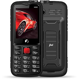 JIVI N6060 DUAL SIM  BIG BATTERY MOBILE PHONE  WITH SHOCK PROOF DESIGN AND WATER RESISTANCE FEATURE