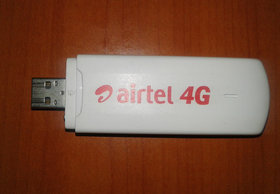 Unlock Airtel 4G E3372 150Mbps USB Modem/DataCard/Dongle no Cap Support All Sim Like Jio BSNL AIRTEL IDEA VODAFONE etc..