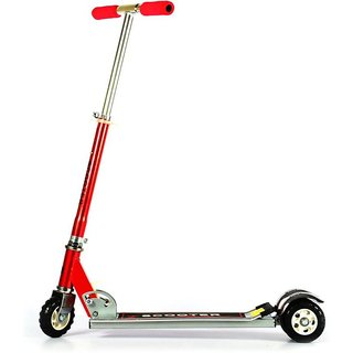 Kids Three Wheel Scooter With Tractor Wheel - Assorted Colors