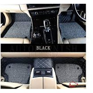 7D Exclusive Quality Car Mats for Hyundai Creta Black Color