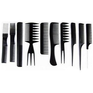buy envyon pack of 10 pcs professional different hair comb set good