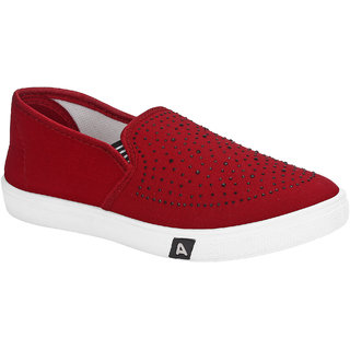 Armado Red-779 Girls Casual Shoes