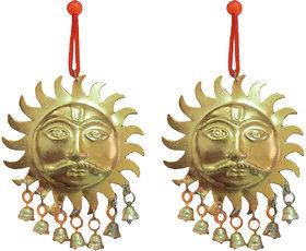 Surya shubh vastu for Entry Door - set of 2