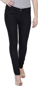 Pavis Black Woman Skinny Jeans