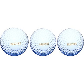 Port Practices Superior Quality Hockey Turf Balls (Pack Of 3)