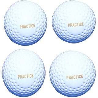 Port Practices Superior Quality Hockey Turf Balls (Pack Of 4)