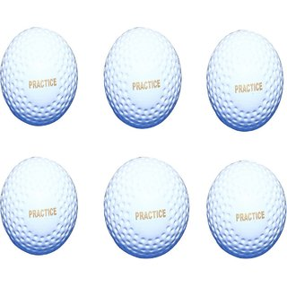 Port Practices Superior Quality Hockey Turf Balls (Pack Of 6)