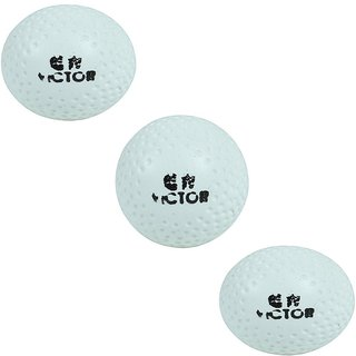 Port Victor Superior Quality Hockey Turf Balls (Pack Of 3)