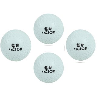 Port Victor Superior Quality Hockey Turf Balls (Pack Of 4)
