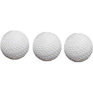Port Superior Quality Field Hockey Turf Balls (Pack Of 3)