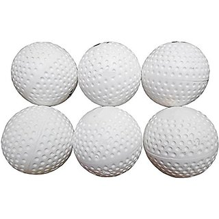 Port Superior Quality Field Hockey Turf Balls (Pack Of 6)