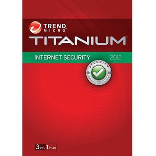 Trend Micro Internet Security - 3 PCs 1 Year (Cloud Edition)