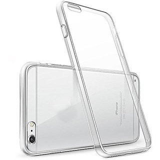 iPhone 6 Soft Silicon Clear Transparent  Back Cover