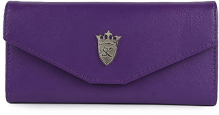 Styler king Purple Plain Clutch