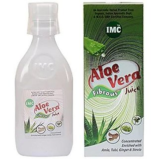 IMC Aloevera Juice With Fibrous WHO Certified Chemical Free (500ml)