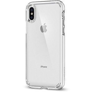 iPhone X Soft Silicon Clear Transparent  Back Cover