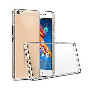 Vivo Y55 Soft Silicon Clear Transparent  Back Cover