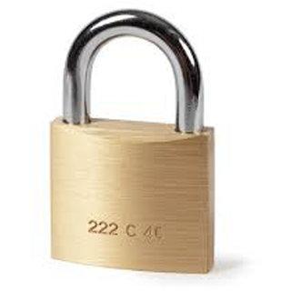 Buy Door Lock Mini Locking Padlock -3 Pics( Original Pital Goldren Colour)  Online - Get 31% Off