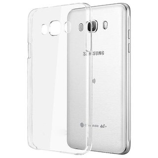 Samsung J2 2016 Soft Silicon Clear Transparent  Back Cover