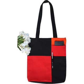 Ryan Overseas Women's Stylish Shopping Cotton Bag