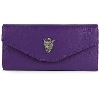 Styler king Purple Plain Clutch