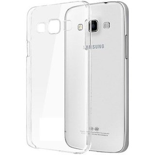 Samsung J5 Soft Silicon Clear Transparent  Back Cover