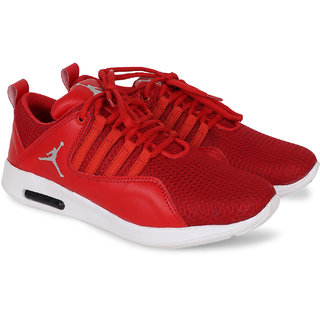 Butchi Men's Red Smart Sport Shoes