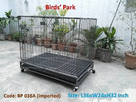 Dog cage imported STRONG for Labrador  GSD- Good for Macaw  Grey parrot