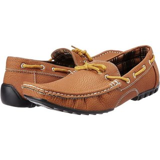 3-Strips Tapps Tetra-3001 Slip-on Casual Shoes (Tan)