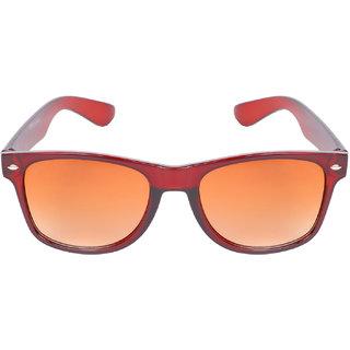 4cd9eedc41 Buy Aligatorr Stylish Brown Double Shade UV 400 Wayfarer Sunglass An53  Online - Get 81% Off