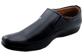Dolly Shoe Company Men's Black Formal Slip on Shoes