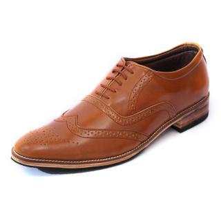 C Comfort Black Mens Genuine Leather Formal Shoe