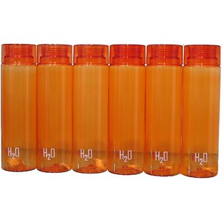 Angels Store Cello H2O water Bottle PET 1000 ml pack of 6