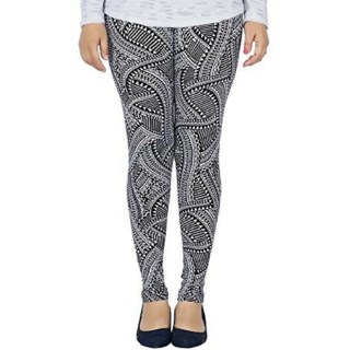 Life Win Printed Stretchable Leggings for Womens