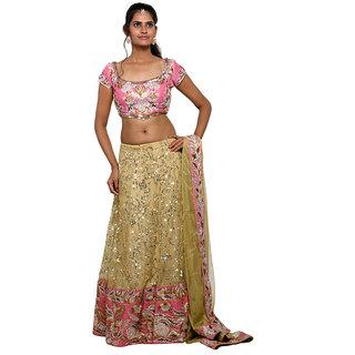 WV&U Pink Chaniya Choli