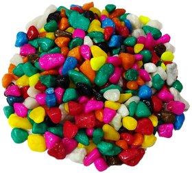 DS Multi-colored pebbles/gravels/stone, 475g
