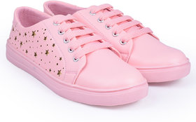 Trendy Look Pink Sneakers