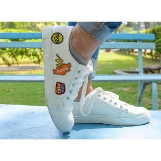 8ce01a1ac0f Buy Trendy Look White Sneakers Online - Get 63% Off