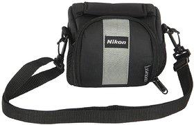 Nikon Coolpix Soft-3 Camera Bag  (Black)