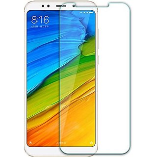MB Communication Xioami Note 5 Tempered Glass Screen Protector Guard for Redmi Note 5 (Pack of 1)