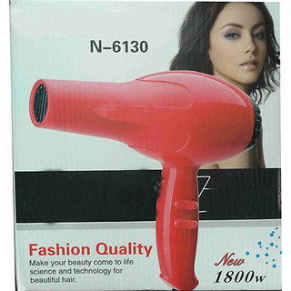 IMPORTED BRANDED HIGH QUALITY HAIR DRYER 1800W WITH 2 SPEED 3 HEATING OUTPUT N-6130